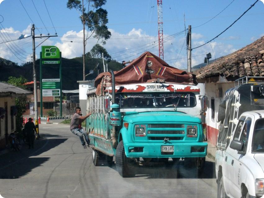Chiva à Coconuco