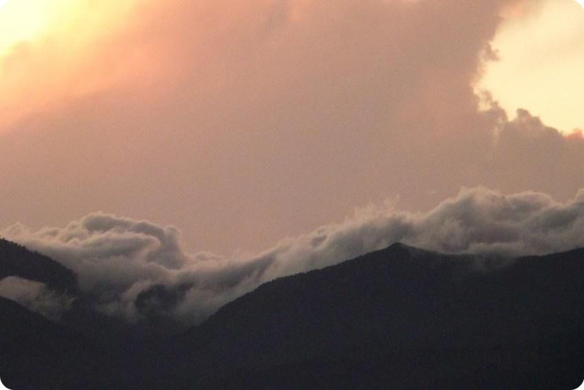 Atardecer desde el Morro del Tulcán de Popayán