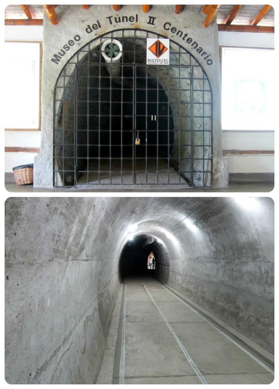 Túnel del museo en el jardín botánico del Quindío en Calarcá