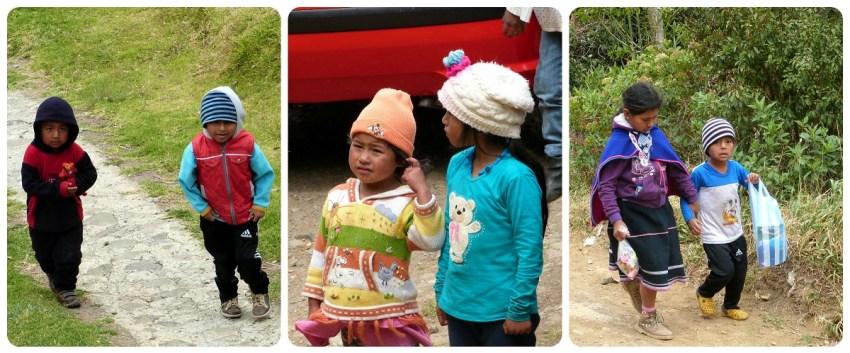 enfants guambiano à silvia
