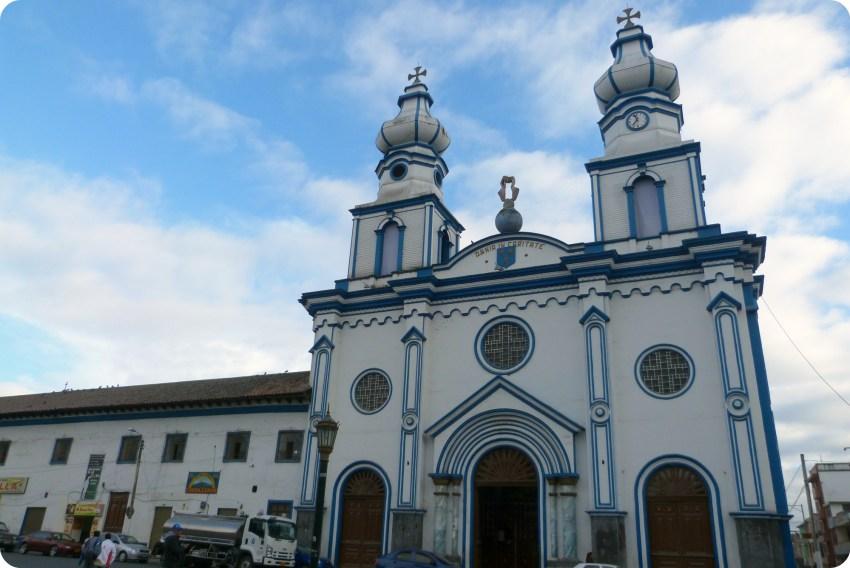Fachada de la iglesia San Felipe Neri de Ipiales
