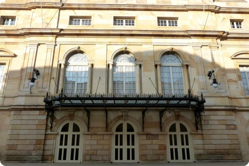 Balcones del Teatro Colón de Bogotá