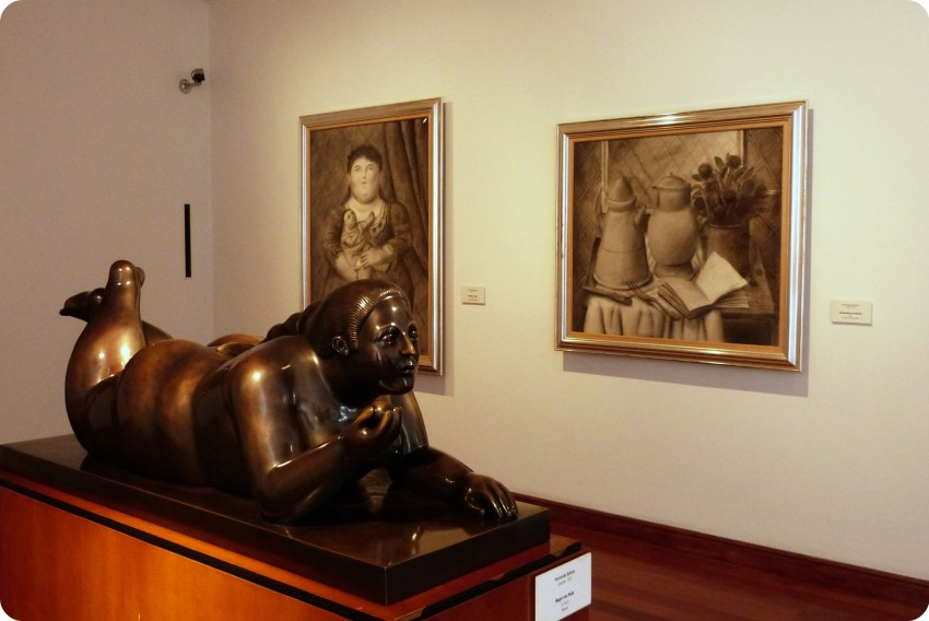 sala del Museo Botero de Bogotá