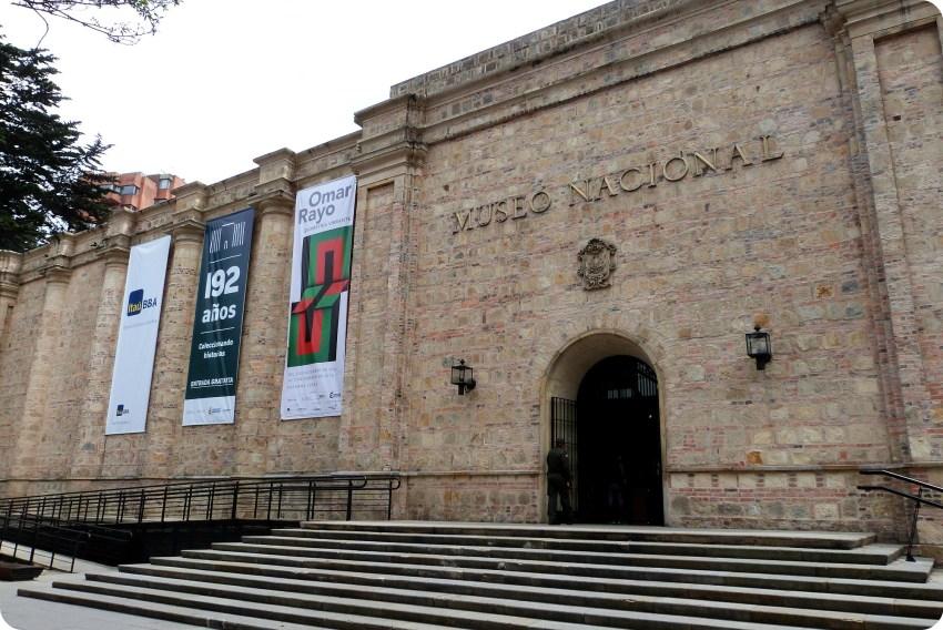 Fachada del Museo nacional de Colombia de Bogotá