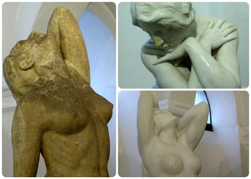 esculturas en el Museo nacional de Colombia de Bogotá