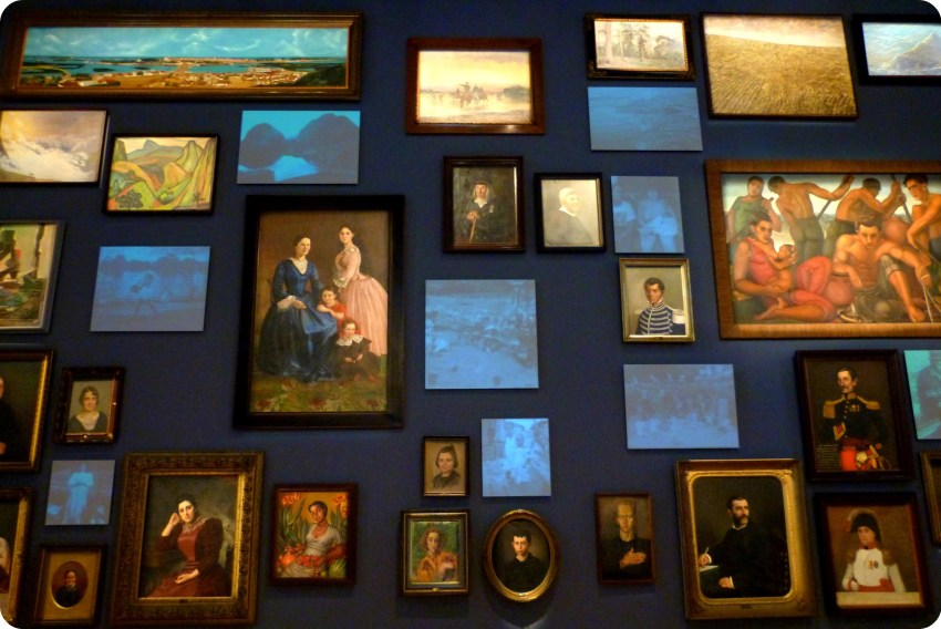 tableaux au Museo nacional de Colombia de Bogotá