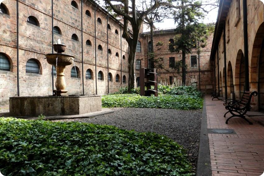 patio du Museo nacional de Colombia de Bogotá