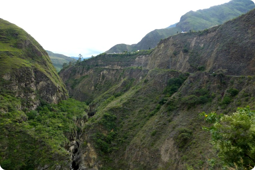 paisaje del sur de Colombia