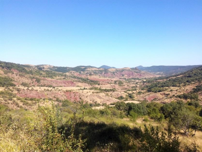 désert hérault proche salagou voyage vélo
