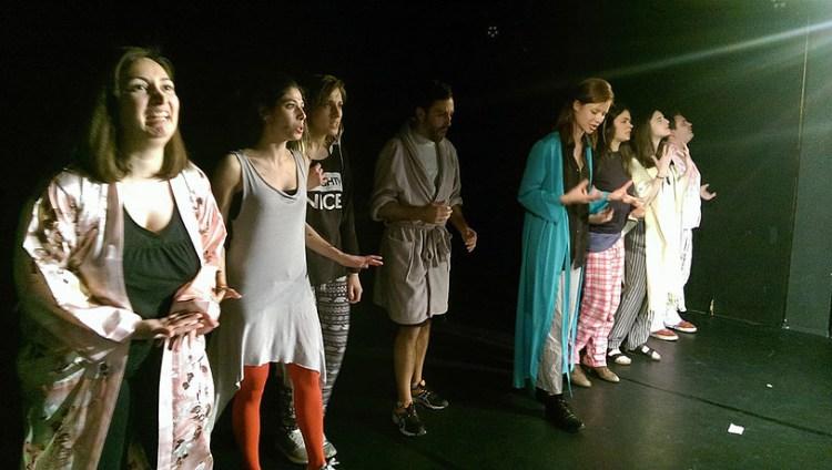 Instant Theatre Berlin: performance