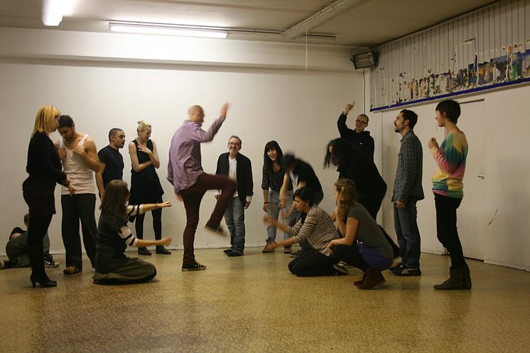 Instant Theatre Berlin-rehearsals