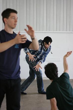 Instant Theatre Berlin- rehearsals