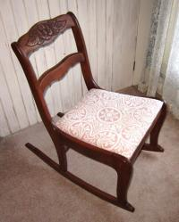 Duncan Phyfe Rocking Chair antique appraisal | InstAppraisal