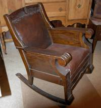 over 100 year old rocking chair antique appraisal ...