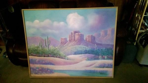 Lee Reynolds Canvas Painting Antique Appraisal Instappraisal