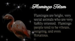 flamingo-totem