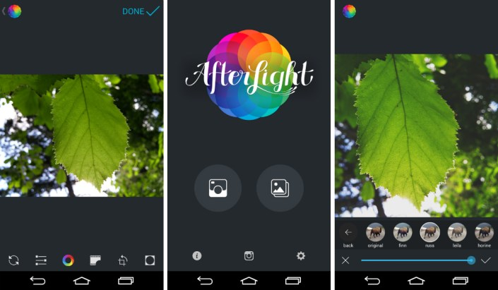 Resultado de imagen para afterlight app