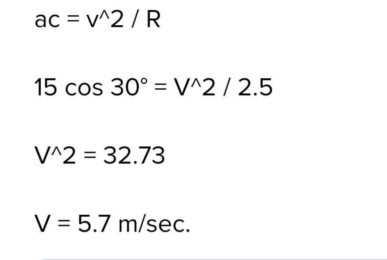 2. In the given figure, a = 15 m/s2 represents the total