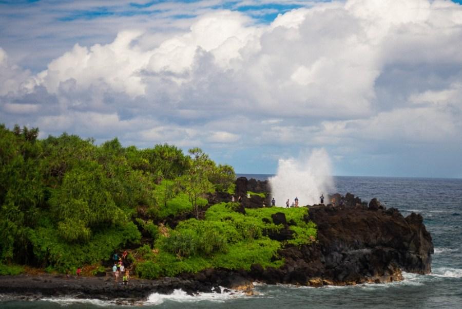 Black Sand Beach Maui - Waianapanapa State Park-2