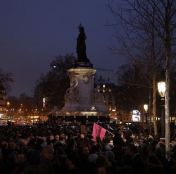 JeSuisCharlie Paris image gathering Republique Wearecharlie(23)