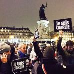 JeSuisCharlie Paris image gathering Republique Wearecharlie(25)