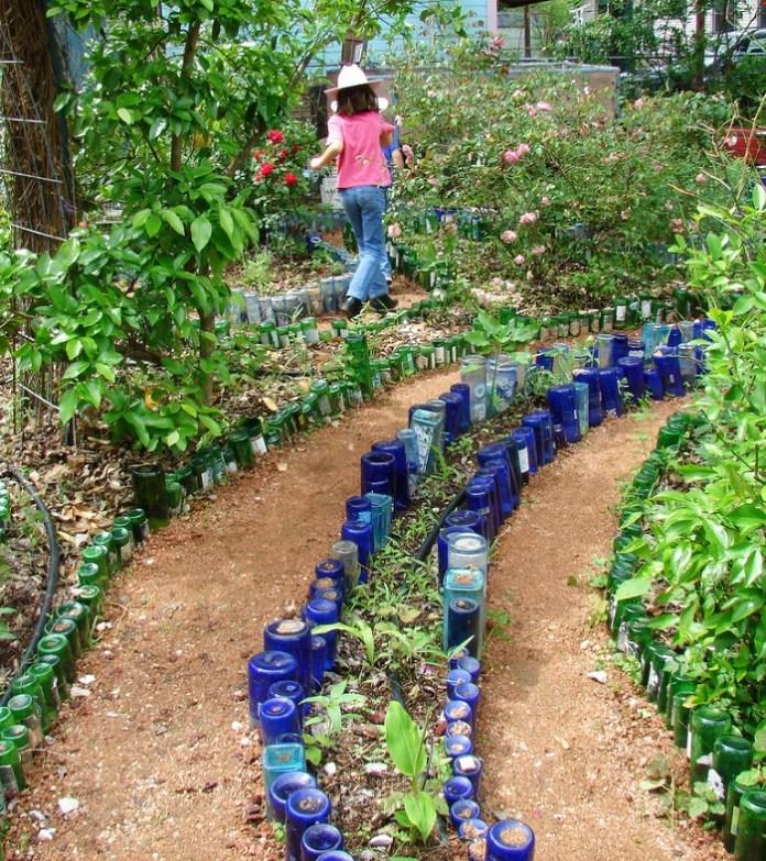 glass bottle border