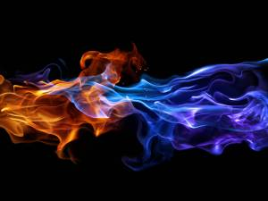 blue-and-red-fire