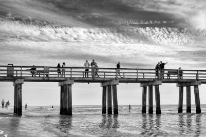 De pier in Naples in Florida