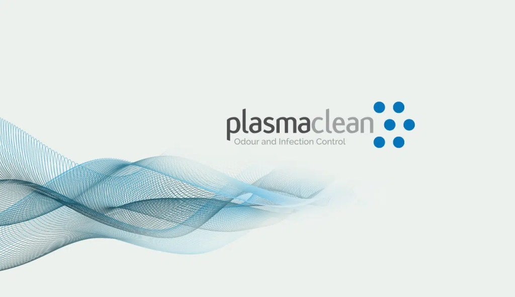 logo branding website design for plasmaclean by Inness Design
