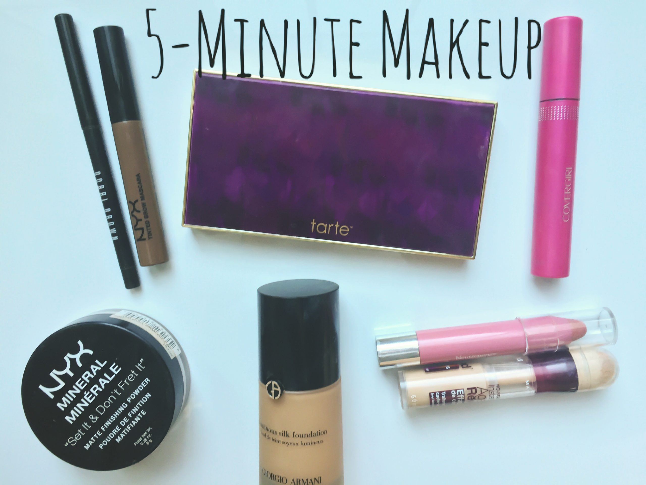 5-minute makeup tutorial