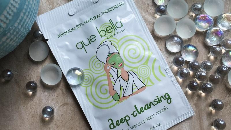Que Bella Beauty Deep Cleansing Aloe Vera Cream Mask