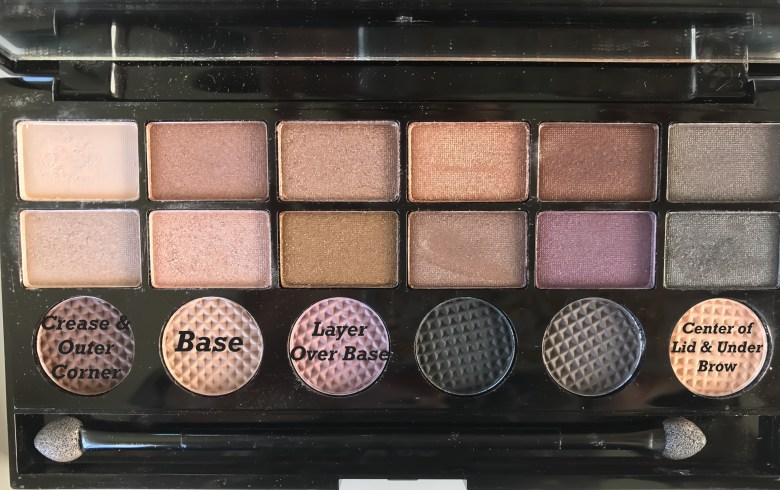 makeup revolution girls on film salvation eyeshadow palette- matte look