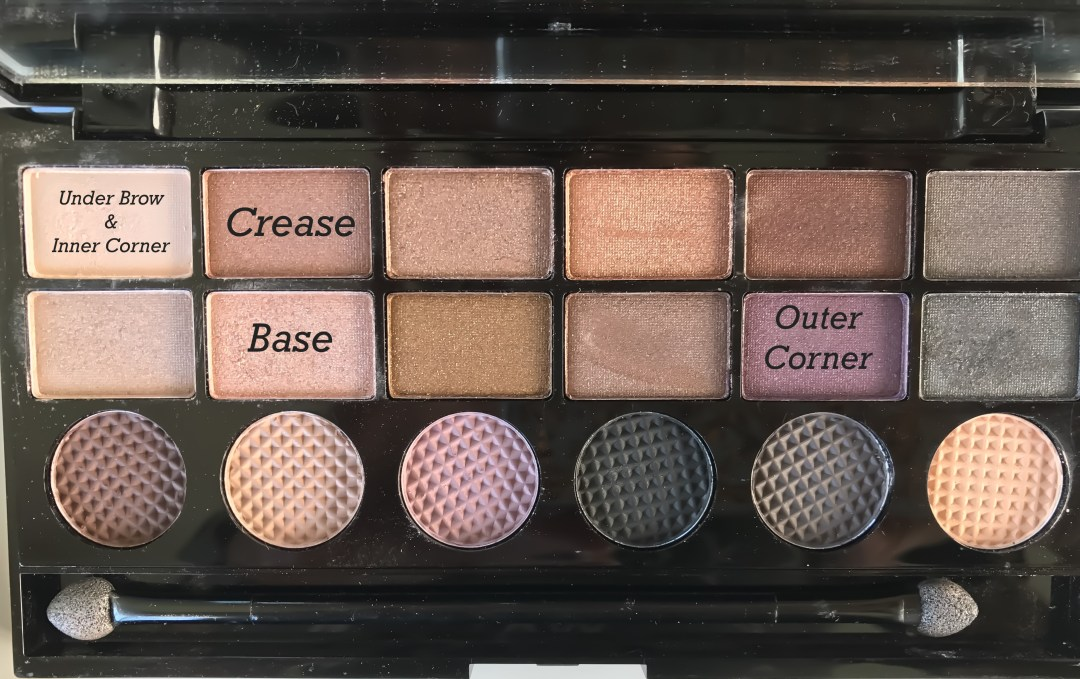 Makeup Revolution Girls on Film Salvation Eyeshadow Palette tutorial everyday look