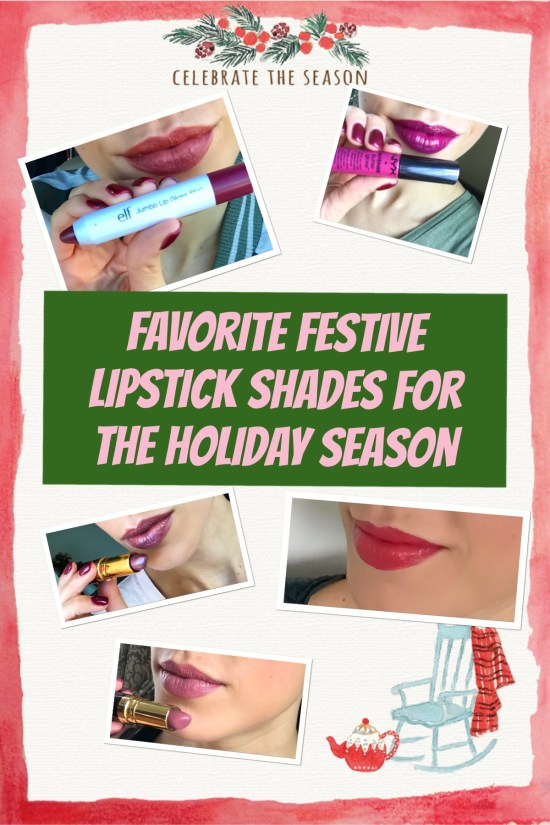 favorite festive lipstick shades for the holiday season