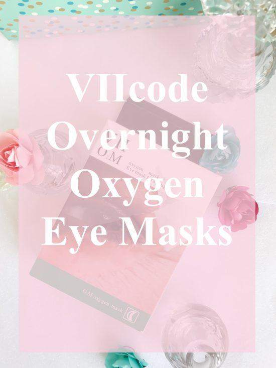VII Code Oxygen Eye Mask