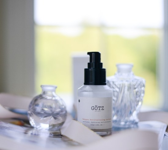 Control Oil with GÖTZ Bad Ischl Oxygen Revitalizing Lotion
