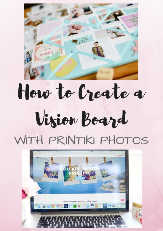 Printiki; vision board; mood board; inspiration board