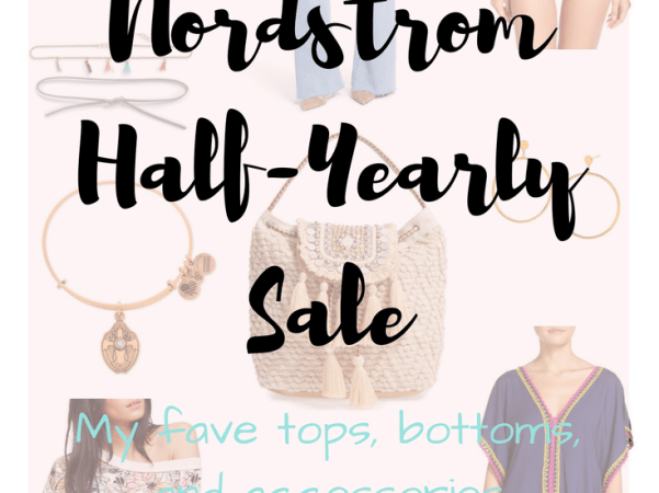 Style Tip Tuesday: Can't-Miss Items from the Nordstrom Half-Yearly Sale