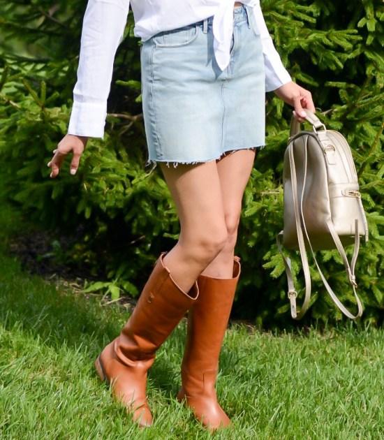 Fall Wardrobe Basics You Need- tall brown boots