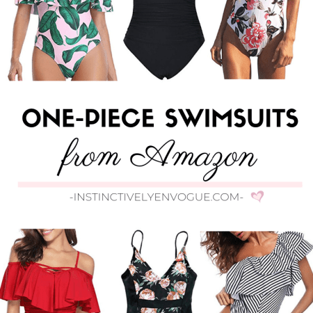 One Piece Swimsuits from Amazon