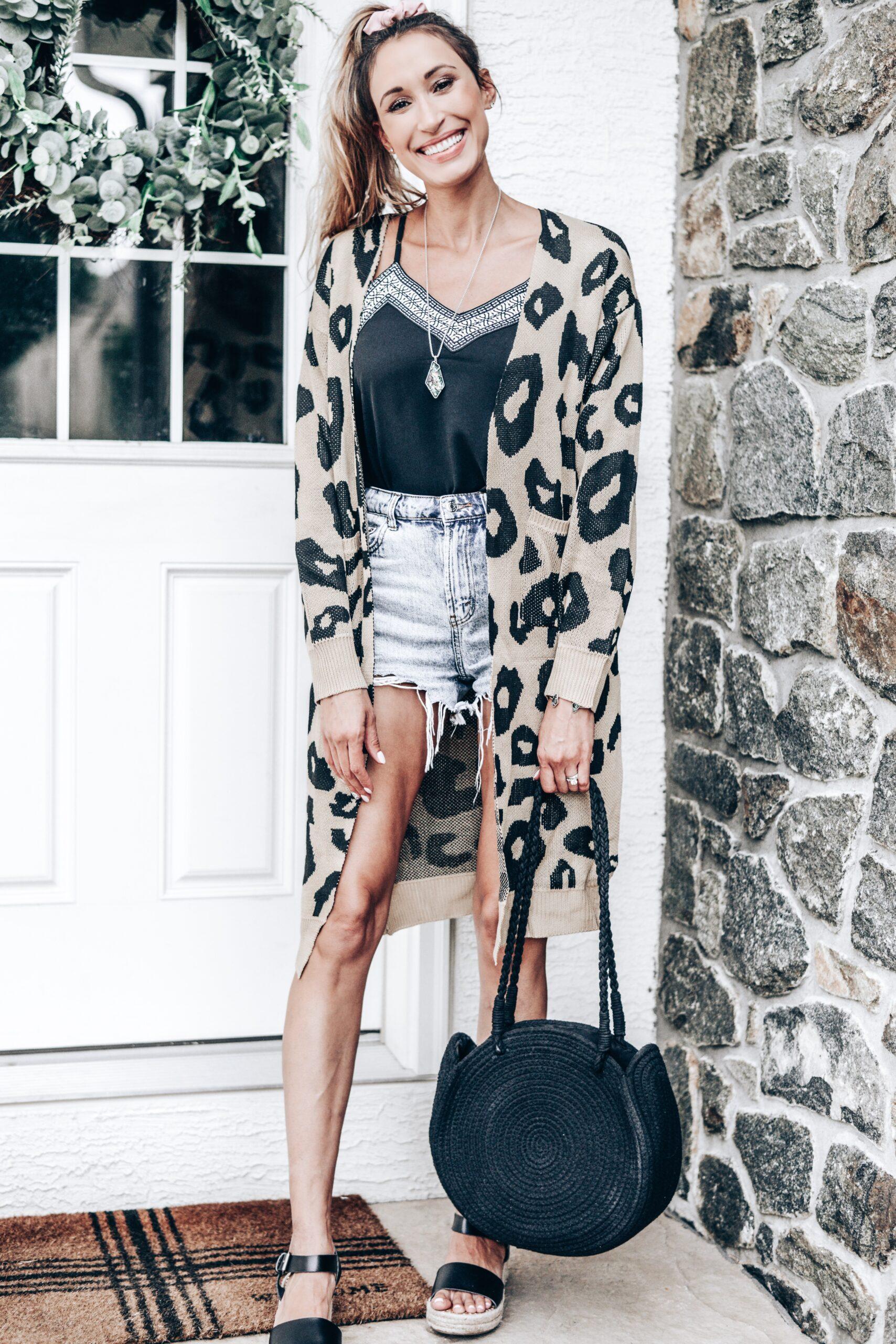 #fashion #amazon #leopardprint #cardigan #outfits