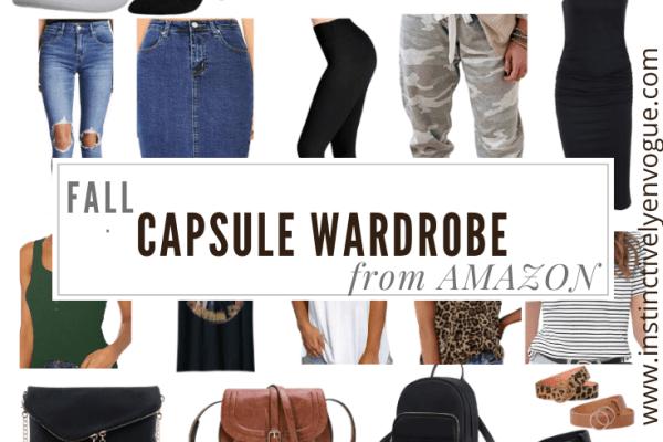 fall wardrobe from amazon