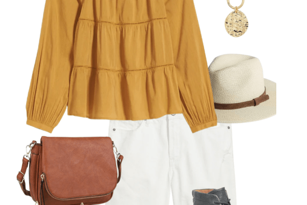 spring and easter outfit idea
