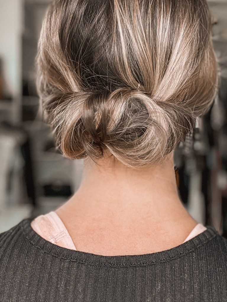 easy wedding guest hairstyle