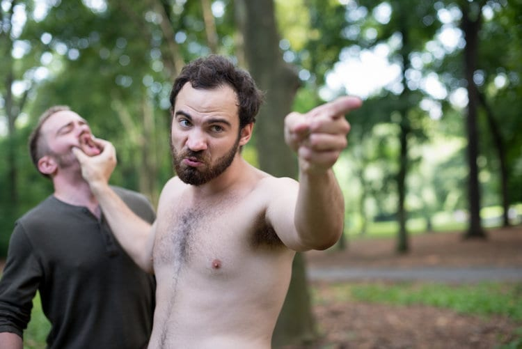 See an all-male, completely nude staging of Hamlet in