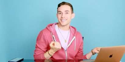 Olympic medalist Adam Rippon launches his own YouTube channel