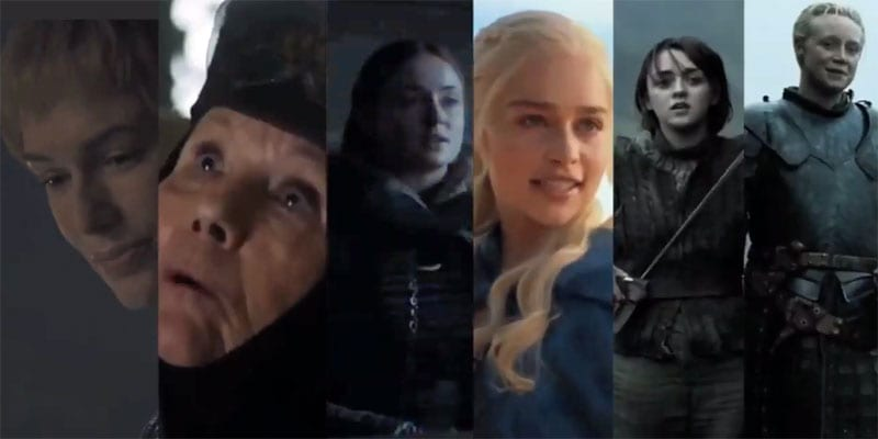 The ladies of Game of Thrones Tango