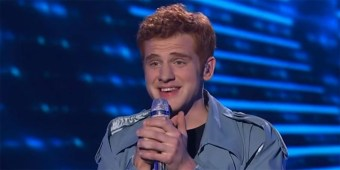 Jeremiah Lloyd Harmon on American Idol (screen capture via YouTube/AI)