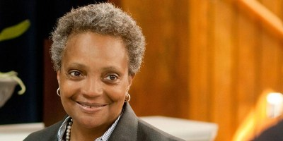 Lori Lightfoot makes history as the first openly LGBTQ Black female mayor of Chicago (image via campaign)