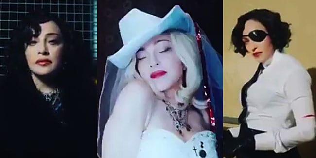 Madonna announces her new album, 'Madame X.' (screen captures via Instagram)